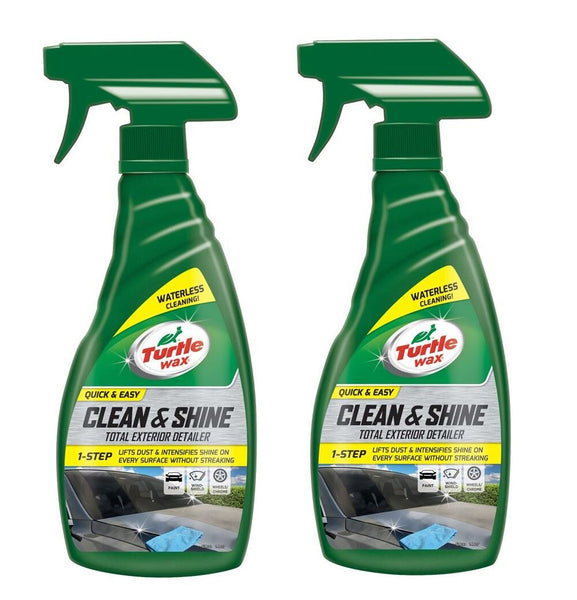 Quick Easy Waterless Car Wash 2 x 500 ML