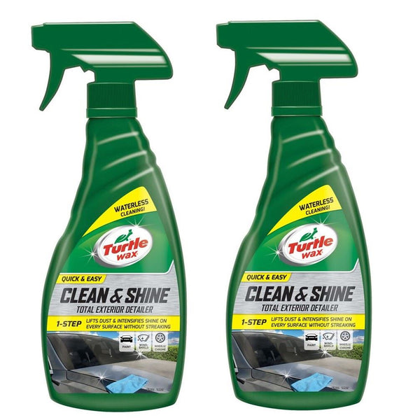 Quick Easy Waterless Car Wash 2 x 500ml