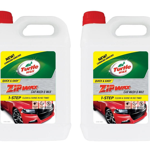Zip Wash & Wax 2 x 5 Litre