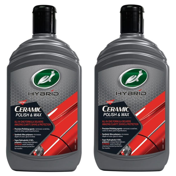 HYBRID SOLUTIONS CERAMIC POLISH & WAX 2x500ml