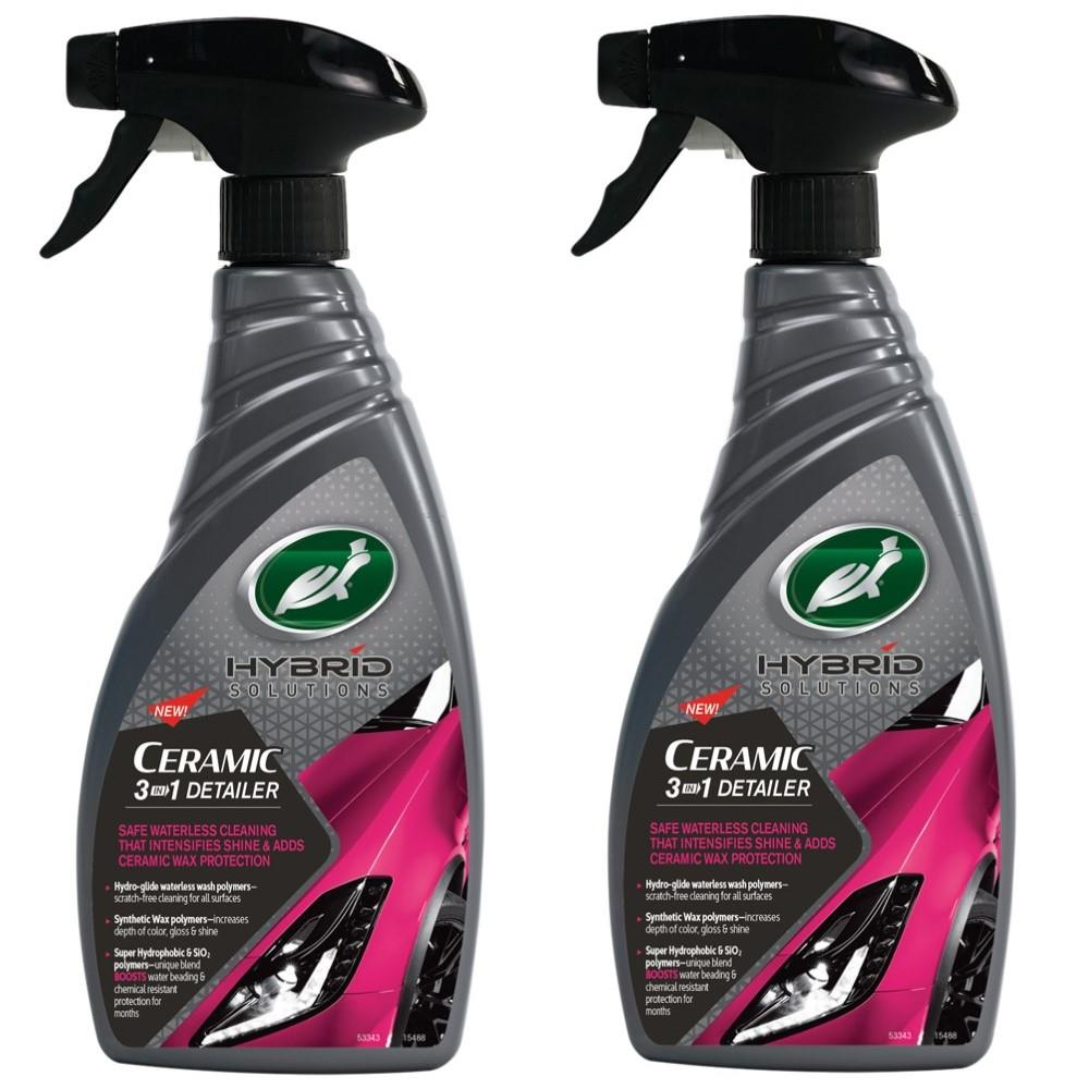 Car Accessories HYBRID SOLUTIONS CERAMIC 3-IN-1 DETAILER 2x500ml