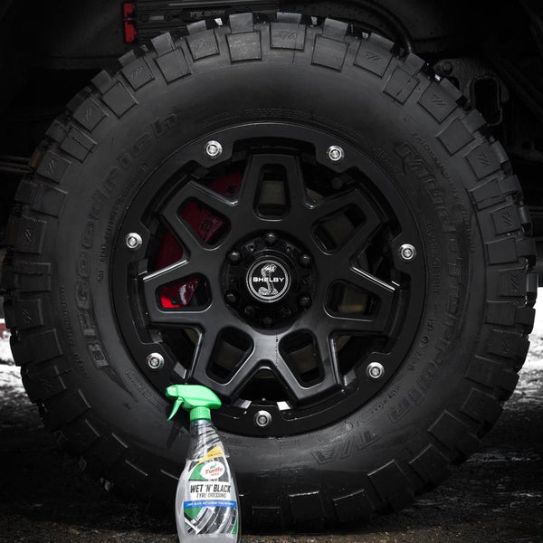 Wet n Black Car Tyre Dressing 500ml Spray