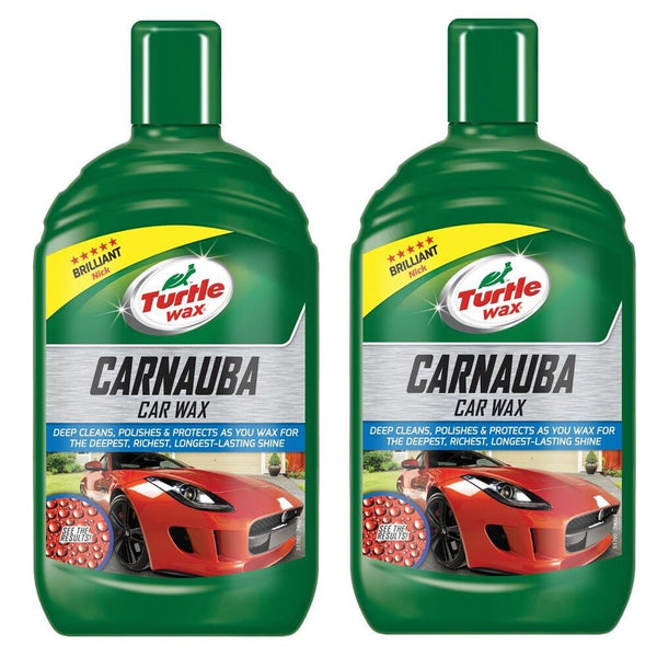 Carnauba Liquid Car Wax 2 x 500ml