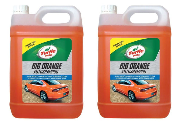 Big Orange Car Shampoo 2 x 5 Litre