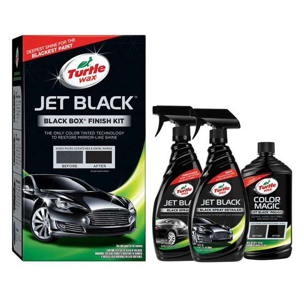 Jet Black Box Car Paint Restorer Kit
