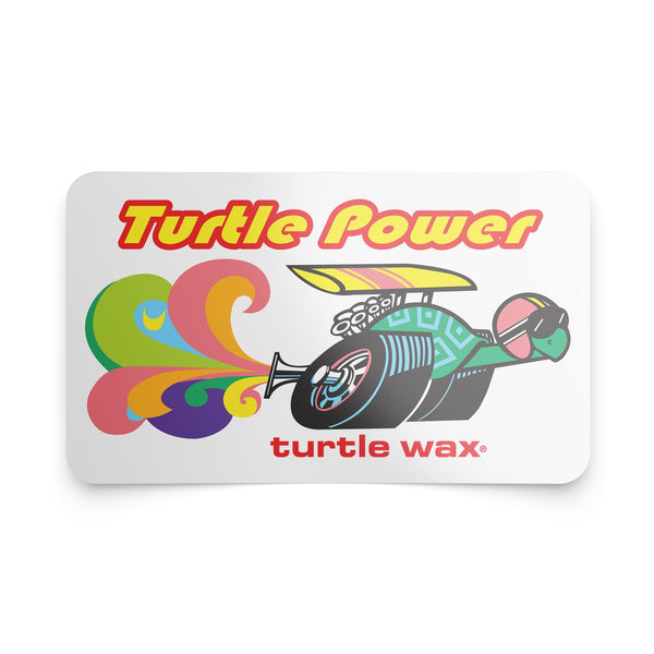 Racing Turtle Sticker