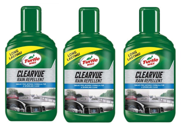 Clearvue Rain Repellent 3 x 300 ML