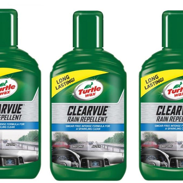 Clearvue Rain Repellent 3 x 300ml