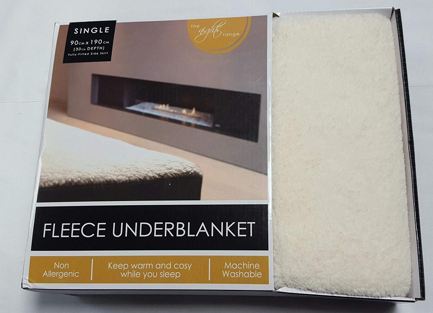 Quality Fleece Underblanket Deep Fitted Thermal Mattress Protector