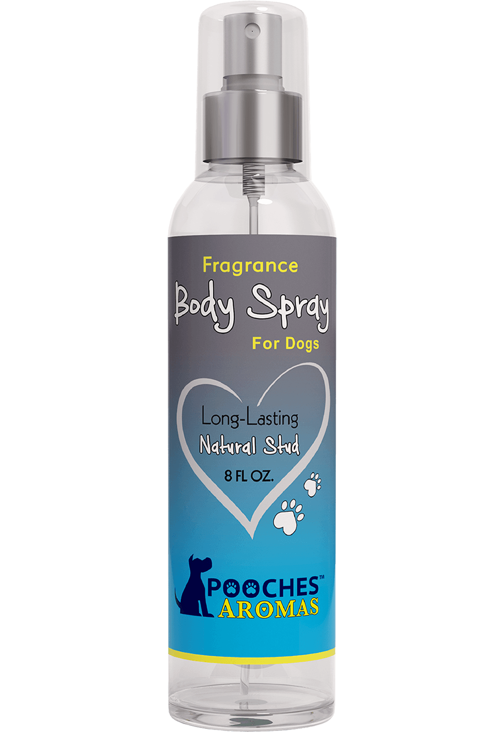 Natural Stud By Pooches Aromas™ Body Spray- 8oz
