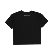 Load image into Gallery viewer, Cropped Tee, Black