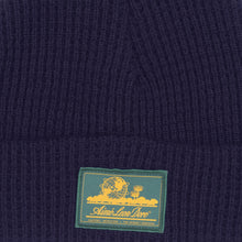 Load image into Gallery viewer, ALD Waffle Knit Beanie, Flag Navy