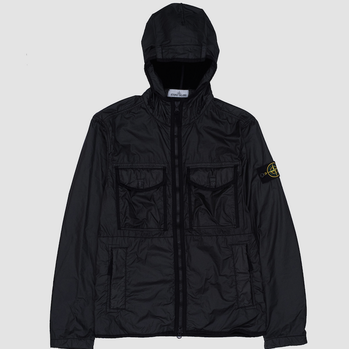 Lamy Flock Hooded Jacket, Black