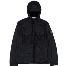Load image into Gallery viewer, Lamy Flock Hooded Jacket, Black