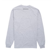 Load image into Gallery viewer, Long Sleeve Logo T-Shirt, Grey