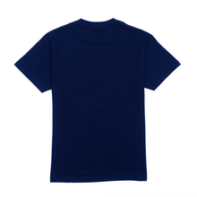 Load image into Gallery viewer, Discharge Logo Tee, Navy