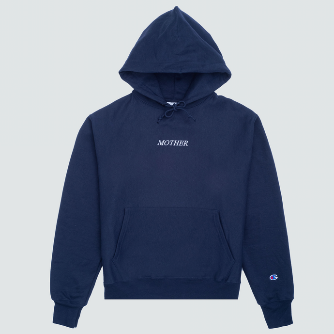 Mother Moon Hoodie, Navy