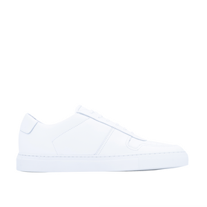 B-ball Low Leather, White