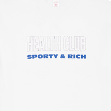 Load image into Gallery viewer, Health Club T-Shirt, White