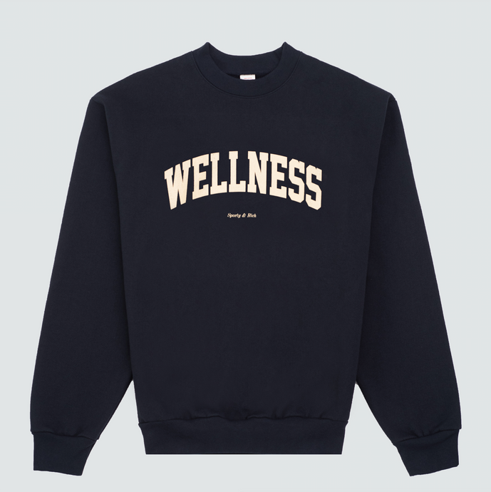 Wellness Ivy Crewneck, Navy