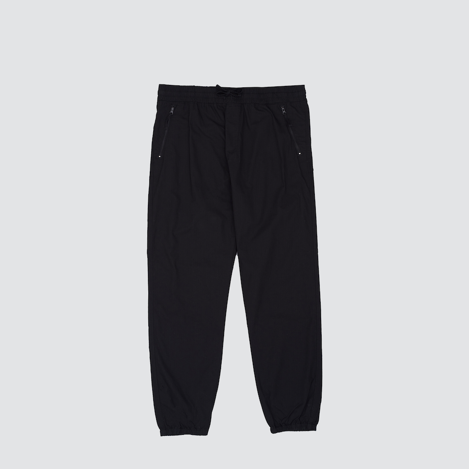 Valiant Jogger, Black Rinsed