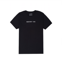 Load image into Gallery viewer, Madison Logo Tee, Black