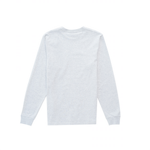 L/S Pocket T-Shirt, Ash Heather