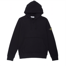 Load image into Gallery viewer, Garment Dyed Popover Hoodie, Black