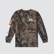 Load image into Gallery viewer, L/S Racer Tee, Real Tree