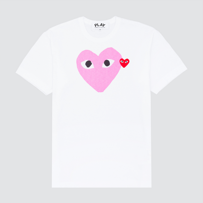 Play Embroidered T-Shirt, Pink