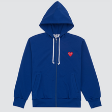 Load image into Gallery viewer, CDG Play Sweatshirt, Navy