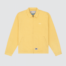 Load image into Gallery viewer, Zip Front Oversized Shirt, Muted Yellow
