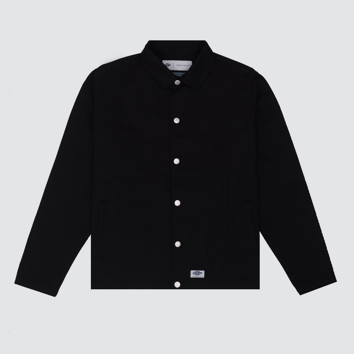 Construct Coach Jacket, Black