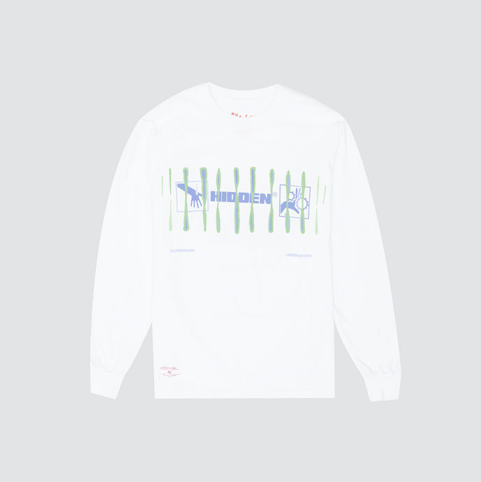 Chromosome Long Sleeve, White