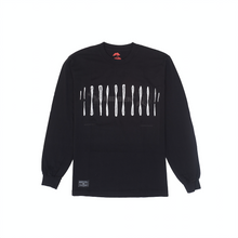 Load image into Gallery viewer, Chromosome Long Sleeve, Black