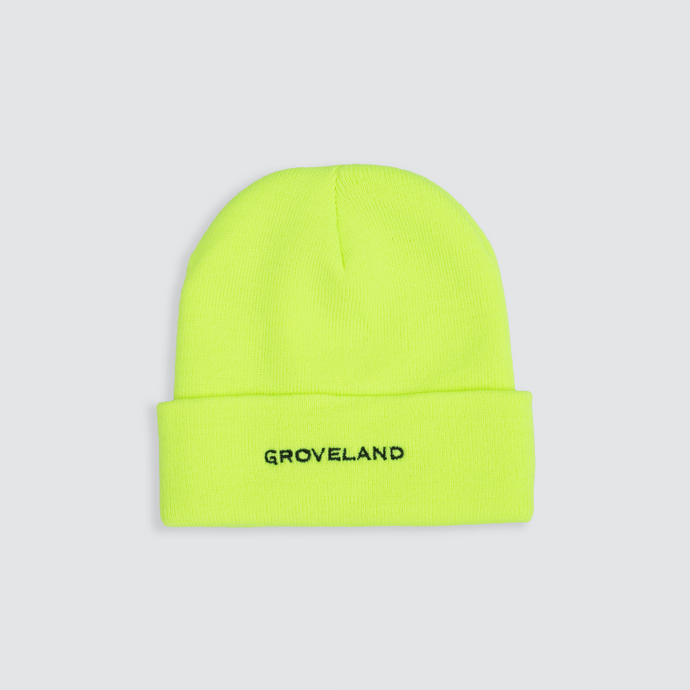 Time Beanie, Safety Green