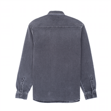 Load image into Gallery viewer, Salinac Shirt Jacket, Black Worn Bleached