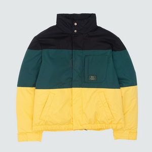 Woolrich Colorblock Down Jacket, Black Combo