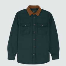 Load image into Gallery viewer, Woolrich Moleskin Button Down, Green