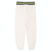 Load image into Gallery viewer, Reverse Fleece Ribbed Sweatpant, Cream