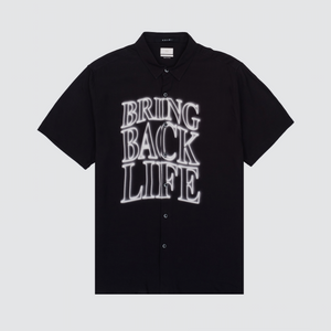 Bring Back Life S/S Shirt, Black