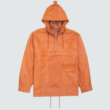 Load image into Gallery viewer, Chesterfield Leather Anorak Jacker, Cognac
