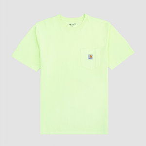 S/S Pocket T-Shirt, Lime