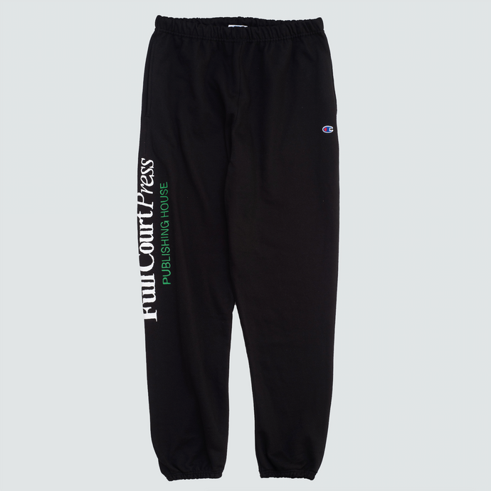 FCP Logo Sweatpants, Black