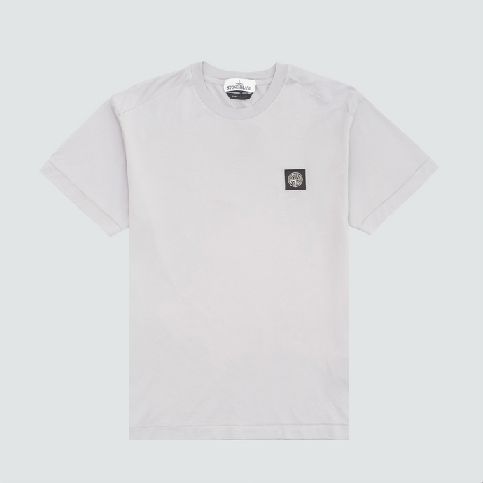 24113 Patch Logo Tee, Powder