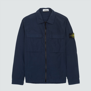 511102 Pocket Zip Overshirt, Navy
