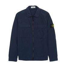 Load image into Gallery viewer, 511102 Pocket Zip Overshirt, Navy