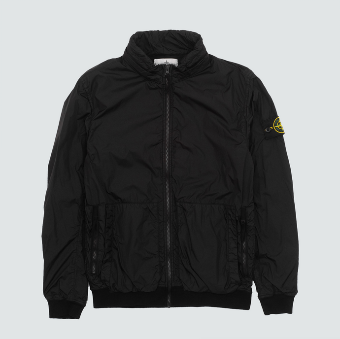 43230 Crinkle Reps Jacket, Black
