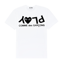Load image into Gallery viewer, Black Play T-Shirt , White