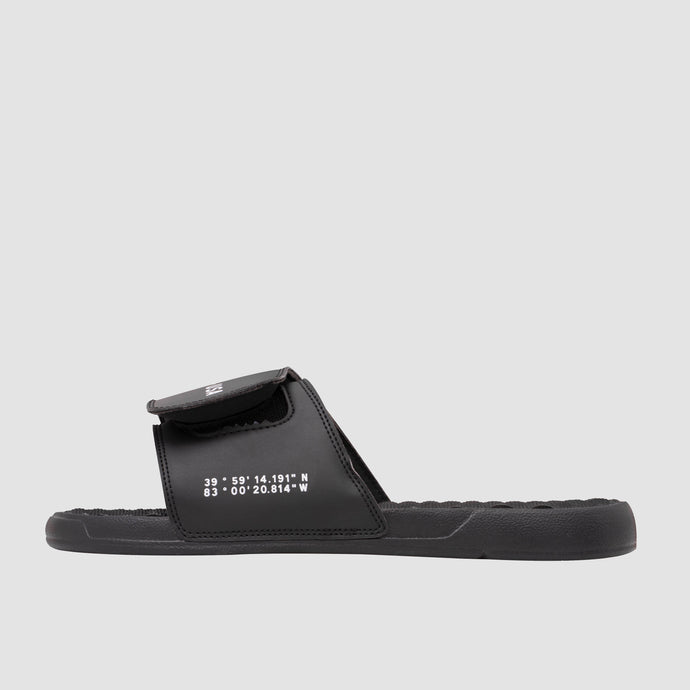 Madison-USA Slides, Black